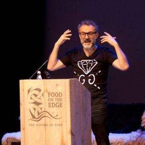 Massimo Bottura Food on the Edge 2016, Town Hall Theatre Galway